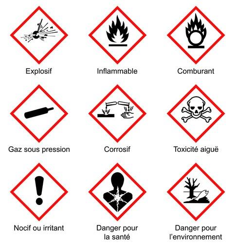Etiquetage des produits chimiques